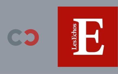 Contractchain a les honneurs du quotidien Les Echos